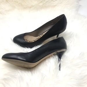 Sam Edelman Pumps - Black Leather - Size 8 M